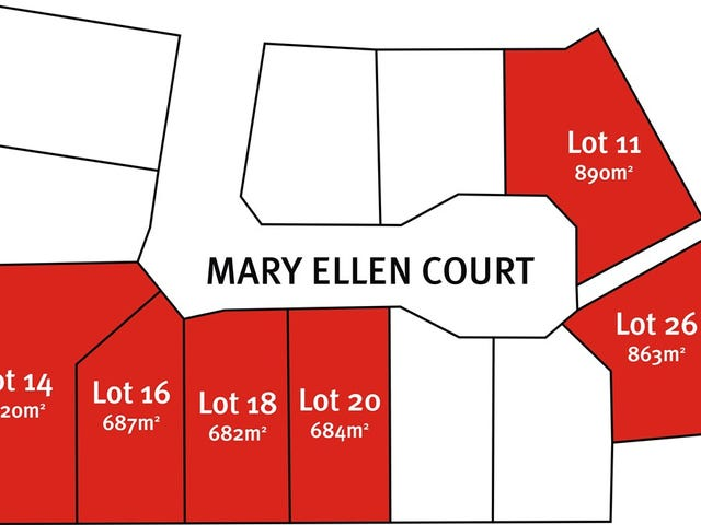 11,14,16,18,20,26 Mary Ellen Court, Robe, SA 5276