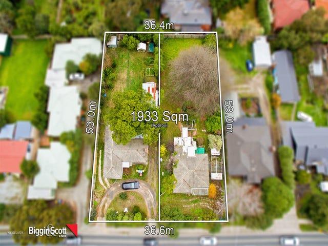 38 & 40 Dorset Road, Ferntree Gully, Vic 3156