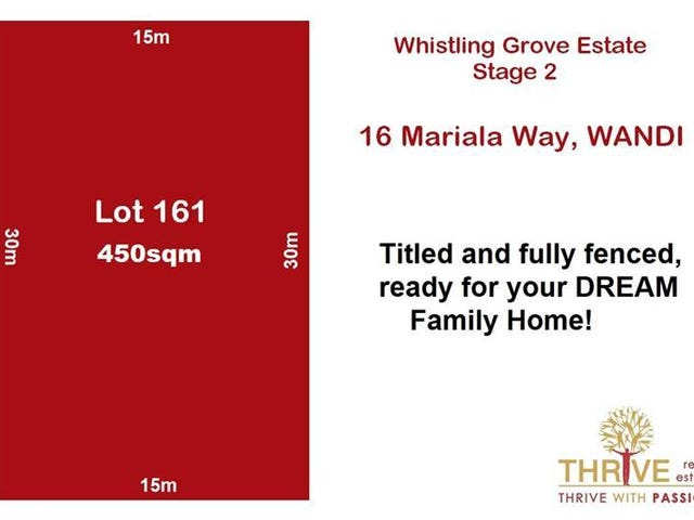 Lot 161, 16 Mariala Way, Wandi, WA 6167