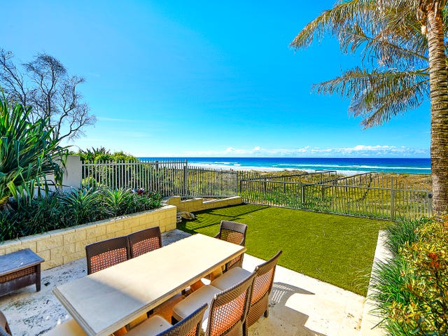 Beach House 1 'Platinum on the Beach' 15 Northcliffe Terrace, Surfers Paradise, Qld 4217