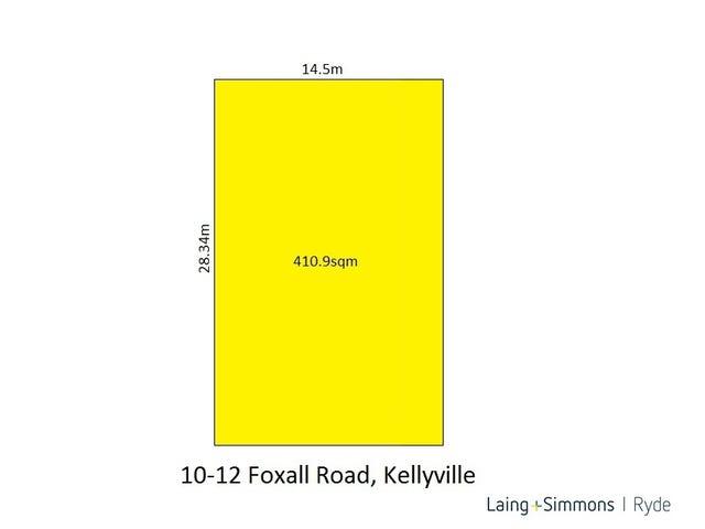 Lot 210, 10-12 Foxall road, Kellyville, NSW 2155