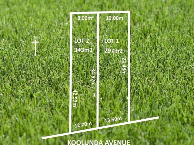 Lot 1 & 2, Koolunda Avenue, Woodville South, SA 5011