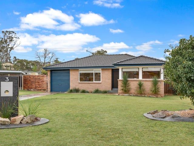 3 Weemala Crescent, Bradbury, NSW 2560