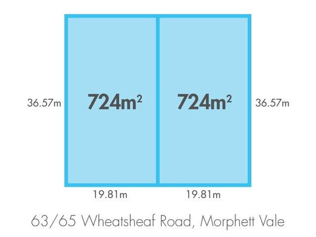 63 & 65 Wheatsheaf Rd, Morphett Vale, SA 5162