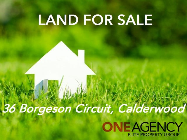 36 Borgeson Circuit, Calderwood, NSW 2527