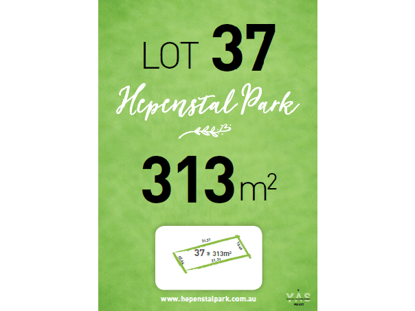 Lot 37, Hepenstal Park, Hackham, SA 5163
