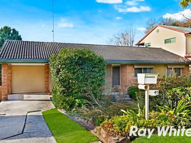 45 Coolibah Street, Castle Hill, NSW 2154
