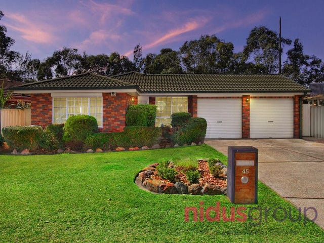45 Flamingo Grove, Plumpton, NSW 2761