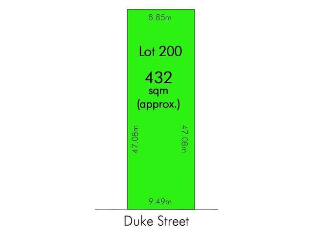 Lot 200, 6 Duke Street, Port Noarlunga, SA 5167
