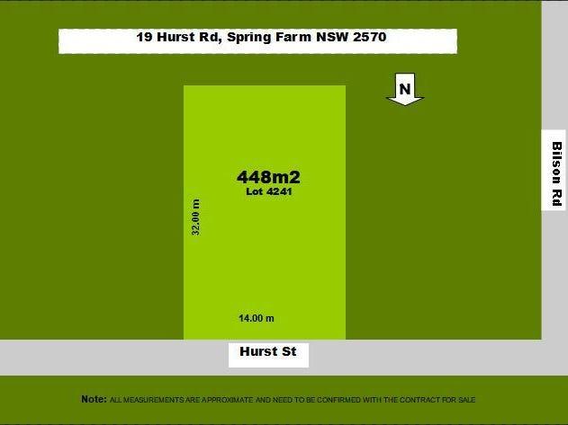 19 Hurst St, Spring Farm, NSW 2570