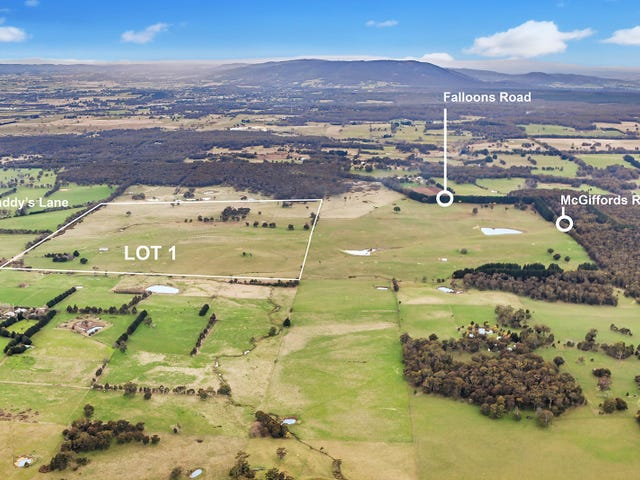 Lot 1 Caddys Lane, Tylden, Vic 3444