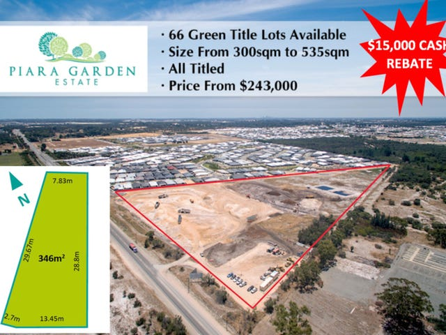 Lot 1744, 8 Breccia Grove, Piara Waters, WA 6112