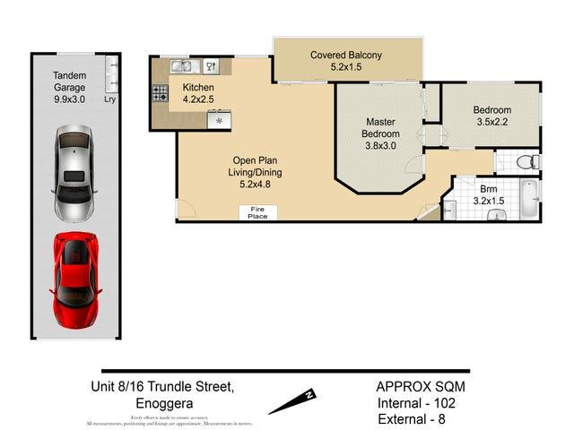 8/16 Trundle Street, Enoggera, Qld 4051