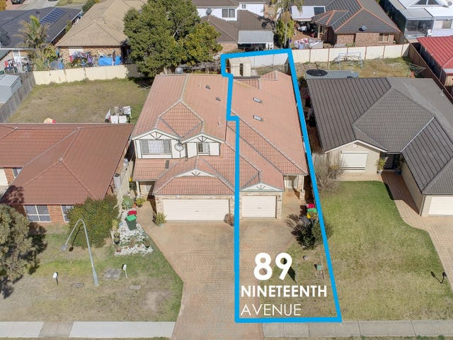 89 Nineteenth Avenue, Hoxton Park, NSW 2171