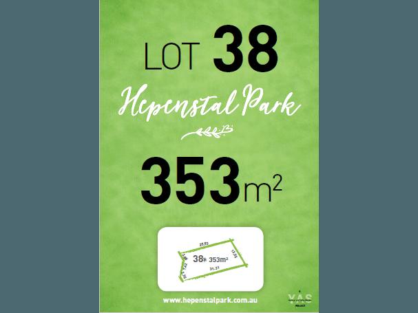 Lot 38, Hepenstal Park, Hackham, SA 5163