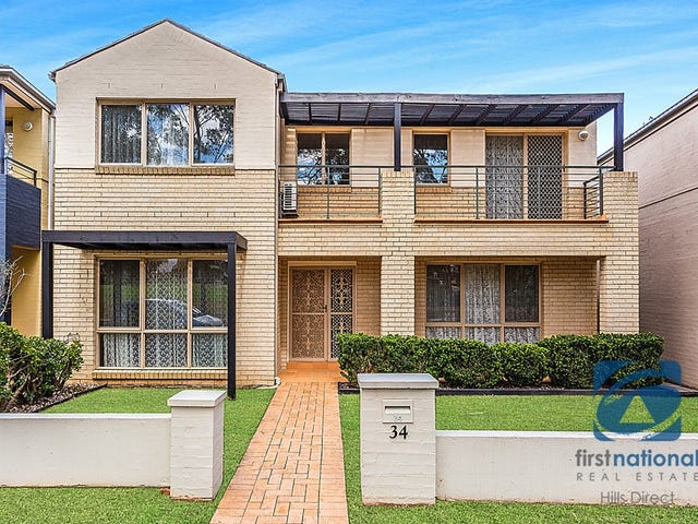 34 Somerset Street, Stanhope Gardens, NSW 2768