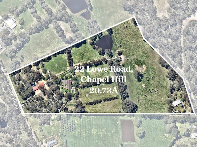 22 Lowe Road, Chapel Hill, SA 5153