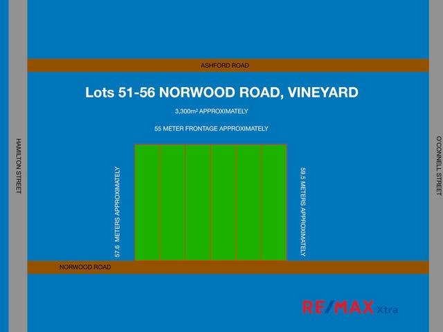 Lots 51 to 56 Norwood Street, Vineyard, NSW 2765