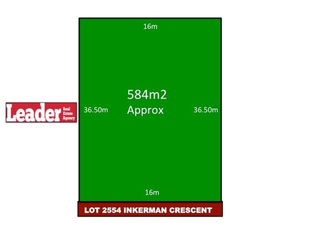 Lot 2554, Inkerman Crescent, Mickleham, Vic 3064