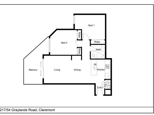 Proposed Unit 217/8 Graylands Road, Claremont, WA 6010