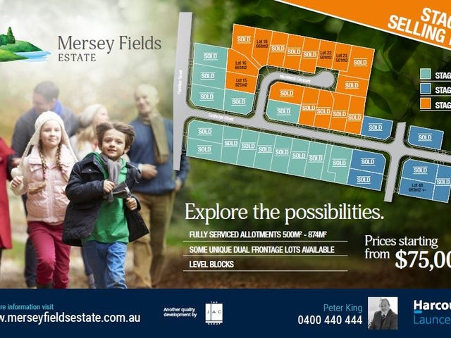 Land - Mersey Fields Estate, Latrobe, Tas 7307