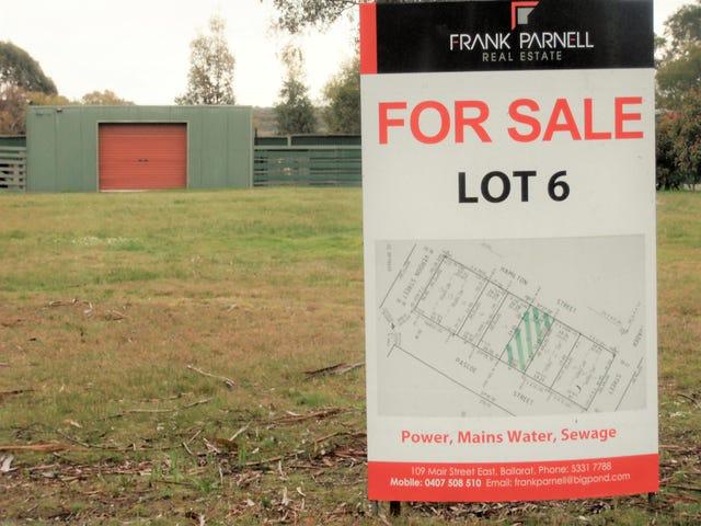 Lot 6, Pascoe Street, Smythesdale, Vic 3351