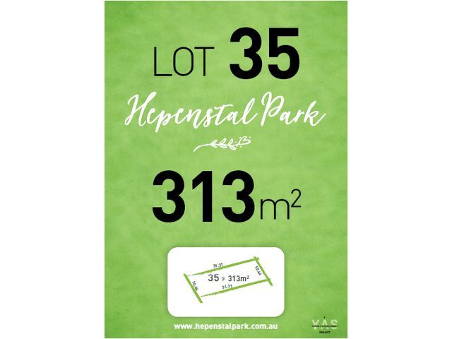 Lot 35, Hepenstal Park, Hackham, SA 5163