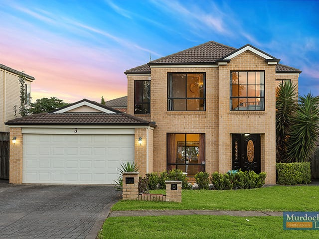 3 Rosebery Road, Kellyville, NSW 2155