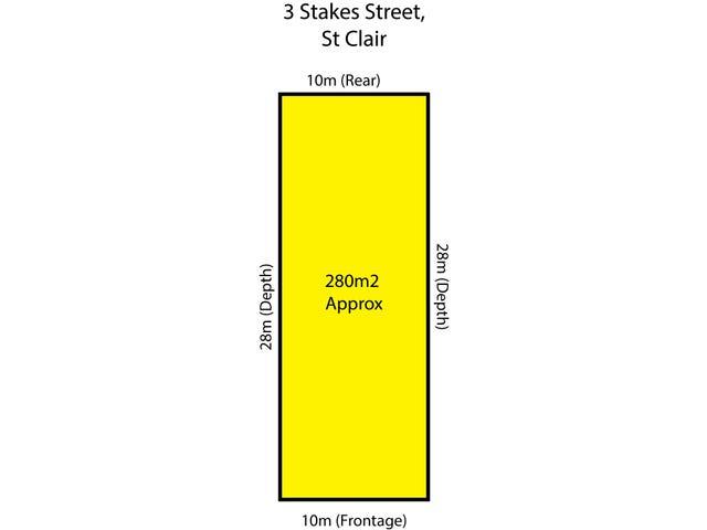 3 Stakes Street, St Clair, SA 5011