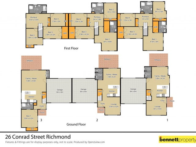 Units 1-3/26 Conrad Street, Richmond, NSW 2753