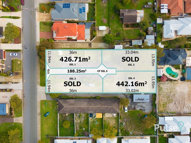 Lots 1 & 4, 38 Barbican Street West, Shelley, WA 6148