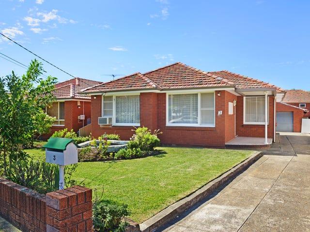 3 Cripps Avenue, Kingsgrove, NSW 2208