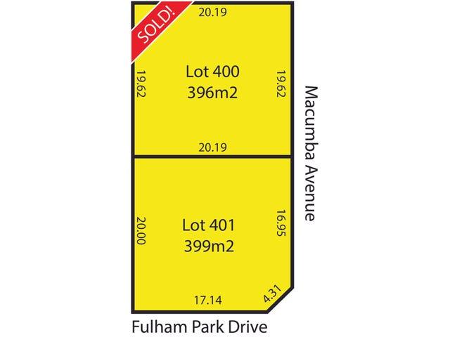 Lots 400 & 401 4 Fulham Park Drive, Lockleys, SA 5032