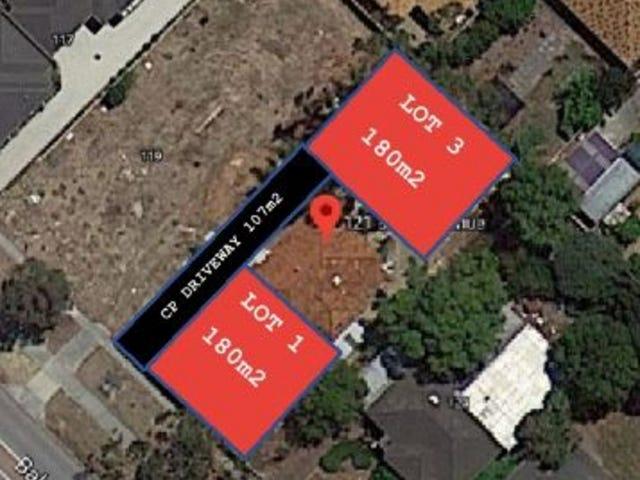 Proposed Lot 1&3/121 Balga Avenue, Balga, WA 6061