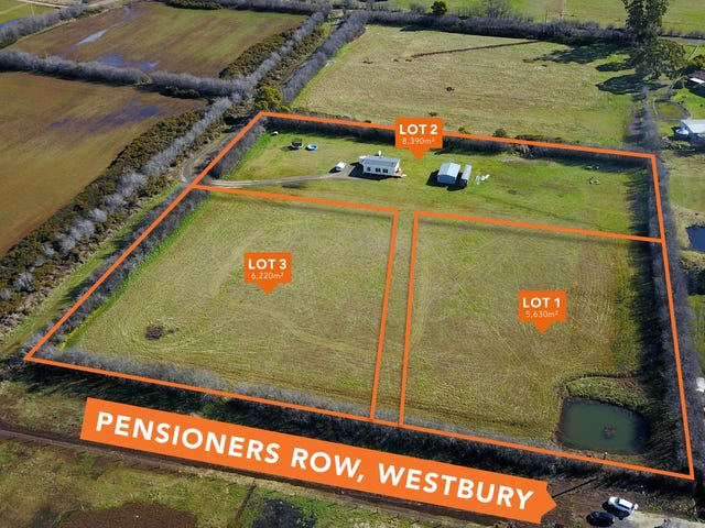 Lot 1 & 3 264 Pensioners Row, Westbury, Tas 7303