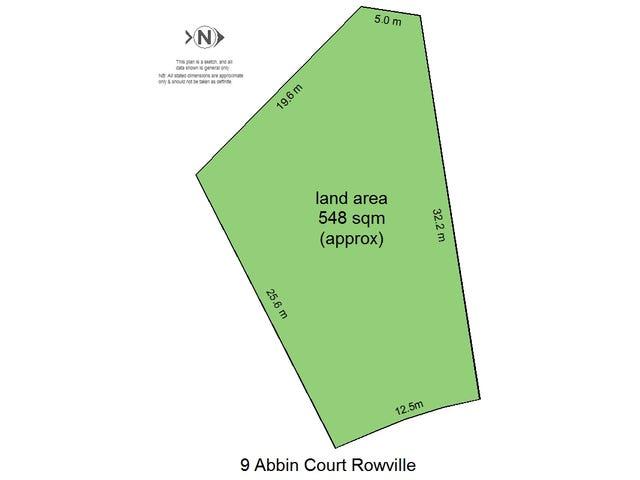 9 Abbin Court, Rowville, Vic 3178