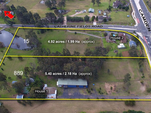 889 Camden Valley Way and 15 Catherine Fields Road, Catherine Field, NSW 2557