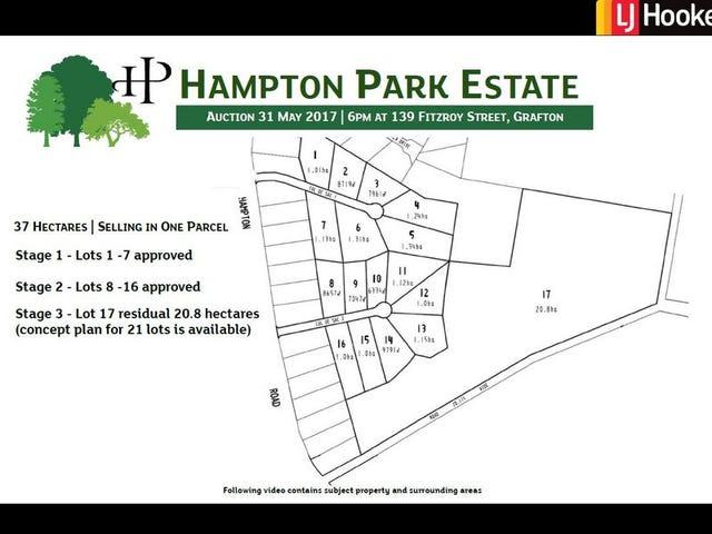 Hampton Park Estate WATERVIEW HEIGHTS/, Grafton, NSW 2460