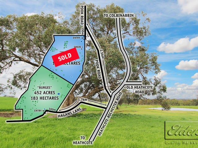 0 Hagans Lane and Pook Road, Toolleen, Vic 3551