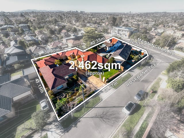 199 - 201 Manningham Road (corner with 2&4 Rosebank Terrace), Templestowe Lower, Vic 3107