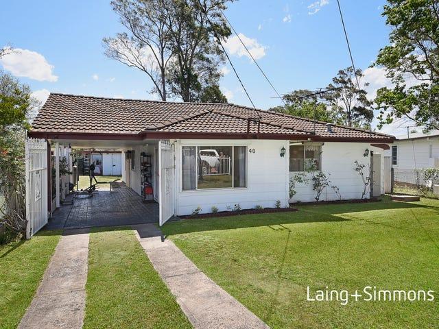 40 Bindaree Street, Hebersham, NSW 2770