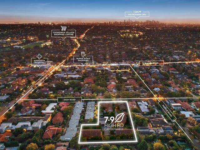 1-18/7-9 High Road, Camberwell, Vic 3124