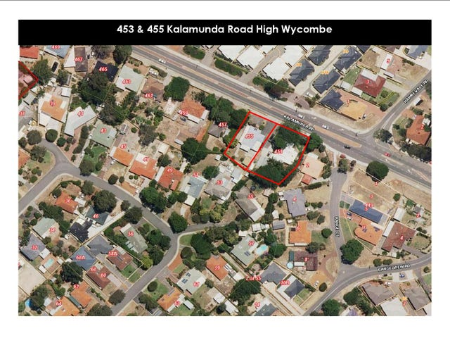 453 & 455 Kalamunda Road, High Wycombe, WA 6057