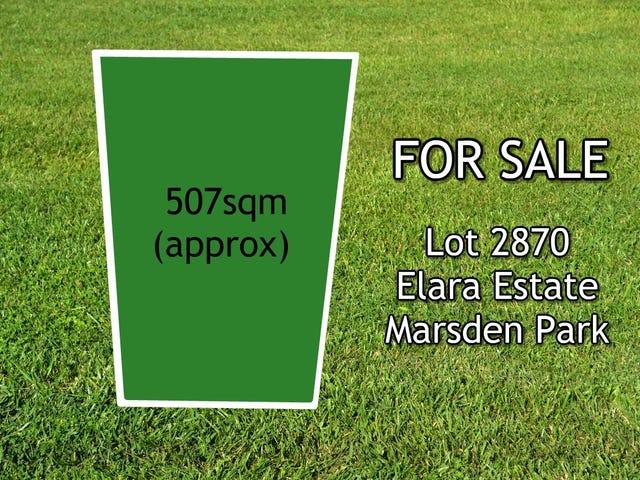 Lot 2870, Elara Estate, Marsden Park, NSW 2765