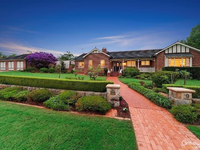 9 Governor Phillip Pl, West Pennant Hills, NSW 2125