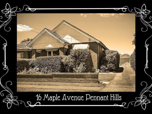 16 Maple Avenue, Pennant Hills, NSW 2120