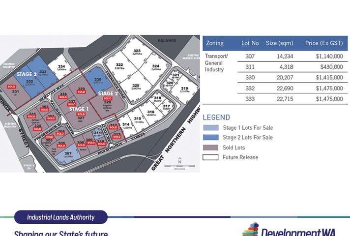 Lot 332 Hematite Way Wedgefield WA 6721 - Image 1