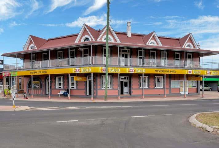 Western Line Hotel, Western Line Pub, 167 Bridge Street Oakey QLD 4401 - Image 1