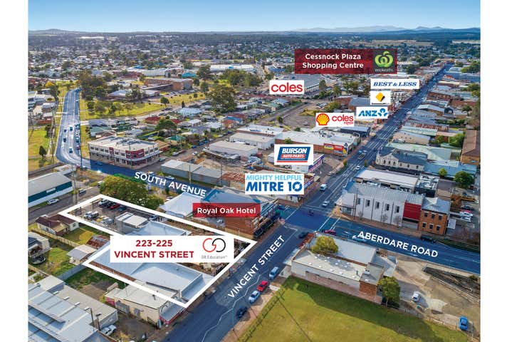 223-225 Vincent Street Cessnock NSW 2325 - Image 1