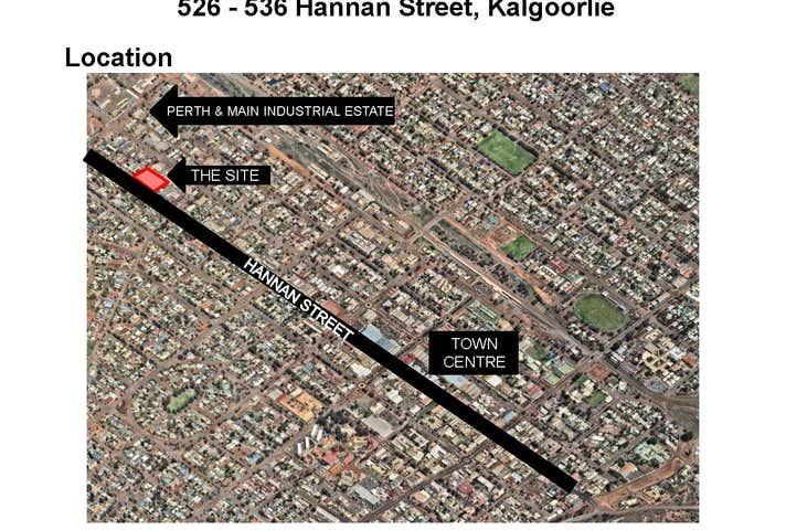 526 - 536 Hannan Street Kalgoorlie WA 6430 - Image 1